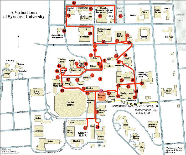 syracuse university campus map alphatel